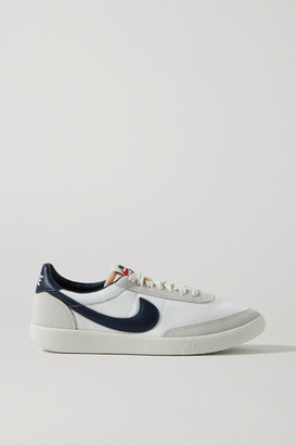 Nike Killshot Og Sp Mesh, Leather And Suede Sneakers - Off-white