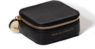 Monica Vinader Personalised Leather Trinket Box