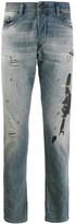 Diesel slim distressed jeans