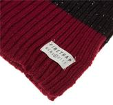Firetrap New Mens Red Logo Acrylic Scarf Beanies