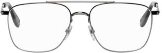 Givenchy Gunmetal Aviator Glasses