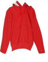 Vetements Champion Cutout Hooded Sweatshirt