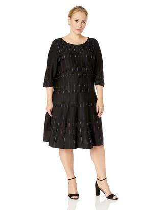 Nic+Zoe Women's Flashing Lights Dress