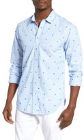 Scotch & Soda Men's Embroidered Woven Shirt