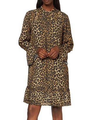 Scotch & Soda Maison Women's Dress with Pleat Details