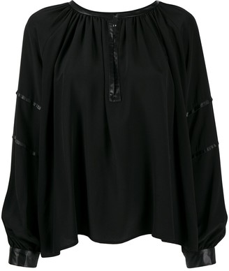 John Richmond Hunter blouse