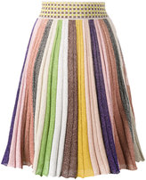 Missoni stripe rainbow skirt - women - Silk/Polyester/Spandex/Elastane/Viscose - 40