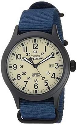 Timex Men's TW4B15600 Expedition Scout 40mm Nylon Slip-Thru Strap Watch