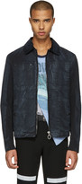 Lanvin Black Waxed Cotton Jacket