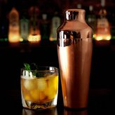 Mezclar Copper Plated Art Deco Cocktail Shaker 17.5oz / 500ml - Vintage Cocktail Making Equipment