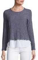 Generation Love Simone Fringe Layer Sweater