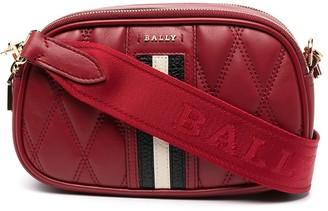 Bally Quilted Leather Shoulder Bag