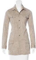 Rag & Bone Long Sleeve Button-Up Tunic