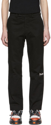 Rochambeau Black Pipe Trousers