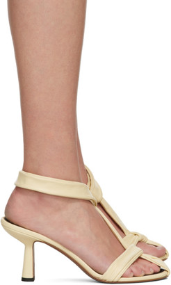 Neous Yellow Proxima 80 Heeled Sandals