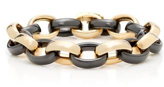 Monica Rich Kosann 18K Gold And Ceramic Bracelet