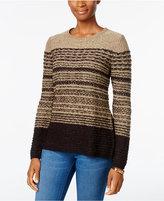 Karen Scott Striped Sweater, Only at Macy's