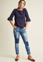 ModCloth Your Hour of Knee Jeans in 31
