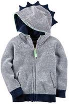 Carter's Dinosaur Hooded Sweater