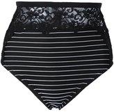 Fleur Du Mal lace insert high bikini bottoms - women - Polyamide/Spandex/Elastane - XS