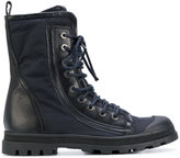 Diesel Black Gold lace-up boots - men - Leather/Polyamide/Polyester/rubber - 40