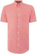 Gant Men's Gingham Short Sleeve Shirt