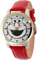 Sesame Street Unisex Red Strap Watch-Wss000022