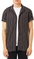 Topman Men's Stripe Sport Shirt