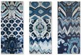 Madison Park Flourish Ikat 3-Pc. Gel-Coated Canvas Print Set
