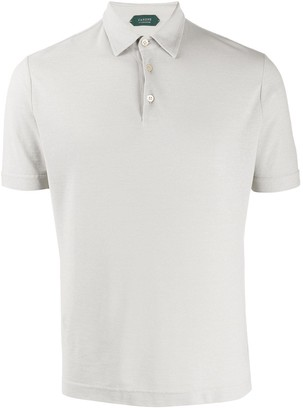 Zanone Plain Short-Sleeved Polo Shirt