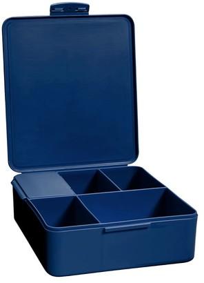 Pottery Barn Teen Navy Plastic Bento Box