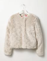 Boden Faux Fur Jacket