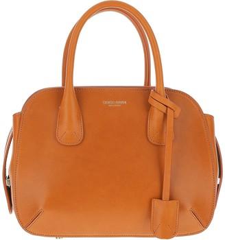 Giorgio Armani Tan Leather Satchel bag