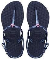 Havaianas Freedom, Girls Sandals,13 Child UK (31/32 Brazilian) (33/34 EU)