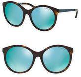 Michael Kors 55MM Island Tropics Round Sunglasses