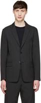 TOMORROWLAND Grey Tropical Wool Blazer