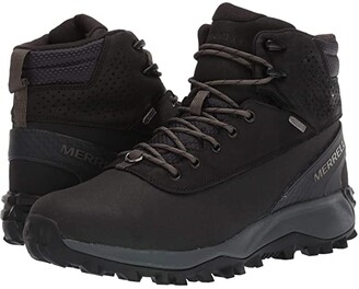 Merrell Thermo Kiruna Mid Shell Waterproof (Black) Men's Shoes