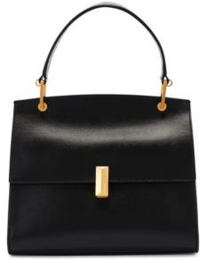 HUGO BOSS Italian-leather handbag with signature hardware