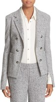 Theory 'Jontia K Parkdale' Double Breasted Cutaway Front Suit Jacket