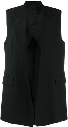 Ami Paris long sleeveless blazer