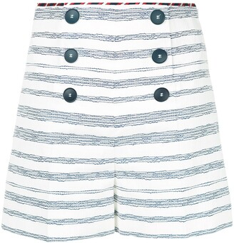 Paule Ka Striped Sailor Shorts