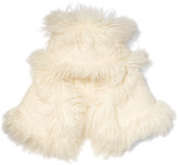 Stella McCartney Faux shearling hat