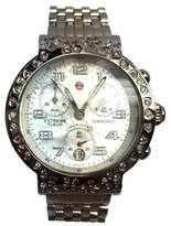 Michele Stainless Steel & White Mother of Pearl Dial 39.20mm Womens Watch