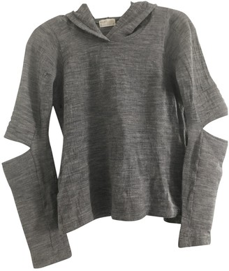 Helmut Lang Grey Wool Knitwear for Women Vintage