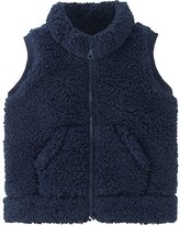 Uniqlo Toddler Fluffy Yarn Fleece Vest