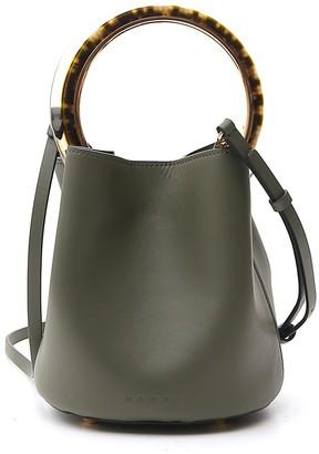 Marni Pannier Top Handle Bucket Bag