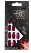 Elegant Touch Trend Nails After Dark Steel The Night