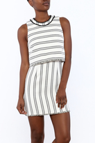 Saylor Baha Striped Dress
