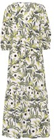Kenzo Printed cotton midi dress