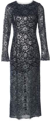 Chanel Silver Viscose Dresses
